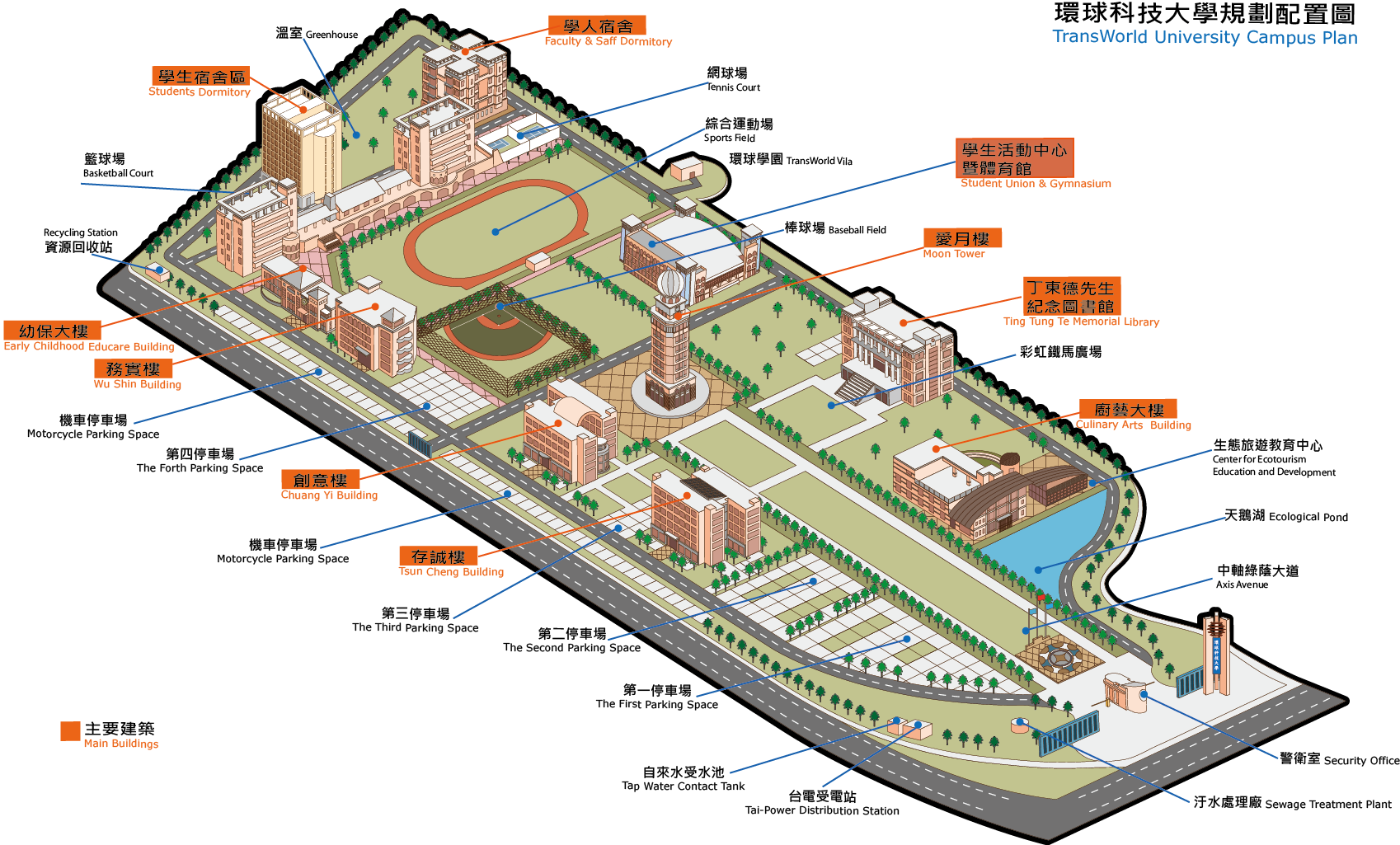 Campus Plan Map