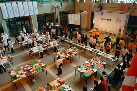 Department of Culinary Arts:competition venues in school